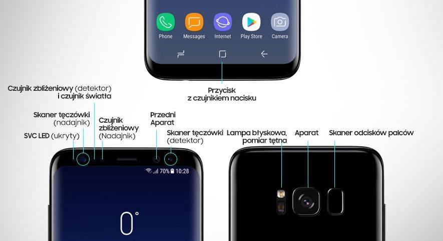 Samsung Udogodnienia wyświetlacza Infinity