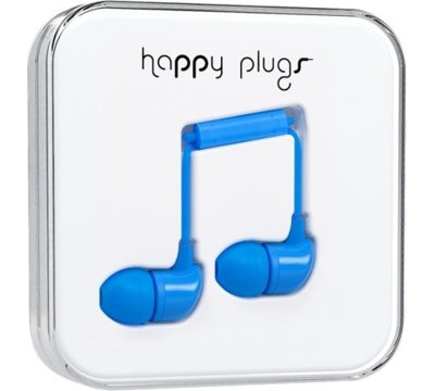 Słuchawki HAPPY PLUGS In-Ear Blue