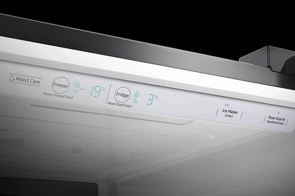 Samsung Intuitivní ovládání.  Ovládací panel