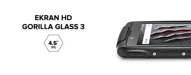 eb879327bea5 Wygodę użytkowania Hammera AXE M LTE zapewnia 4.5-calowy ekran HD z  technologią IPS