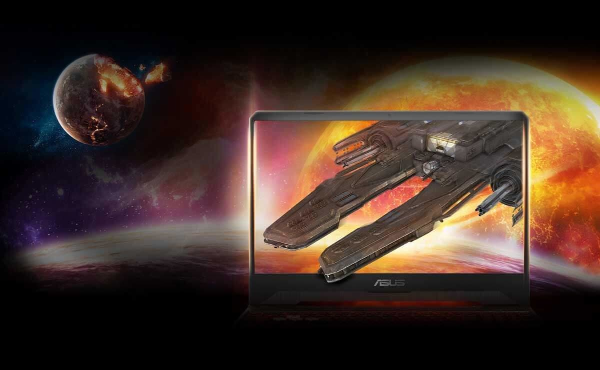 ASUS TUF GAMING FX505 – Ekran NanoEdge