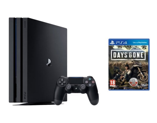 Konsola SONY PlayStation 4 Pro 1TB G Chassis Czarna + Days Gone + Playstation Plus 14 dni