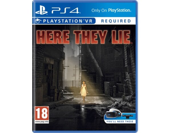 Gra PS4 VR Here They Lie