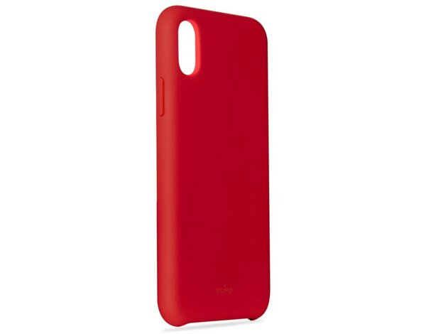 Etui PURO Icon Cover do Apple iPhone XS Max Czerwony (Limited edition)