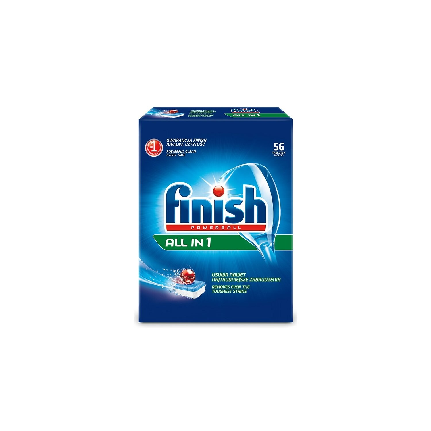 Tabletki FINISH All in 1 56 sz.