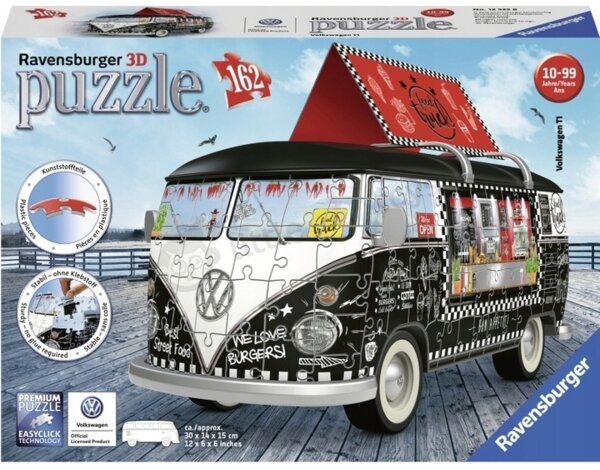 Puzzle 3D RAVENSBURGER VW Bus Food Truck