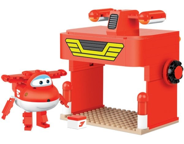 Klocki COBI Super Wings - Jetts Station (25133)