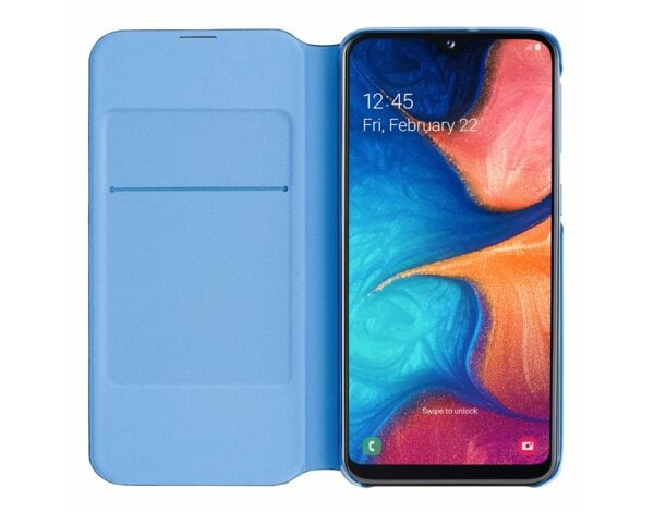 Etui SAMSUNG Wallet Cover do Galaxy A20e  Czarny  EF-WA202PBEGWW