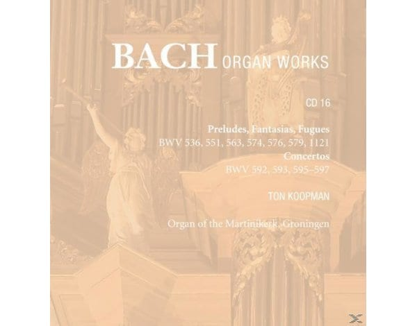 BACH:COMPLETE ORGAN WORKS