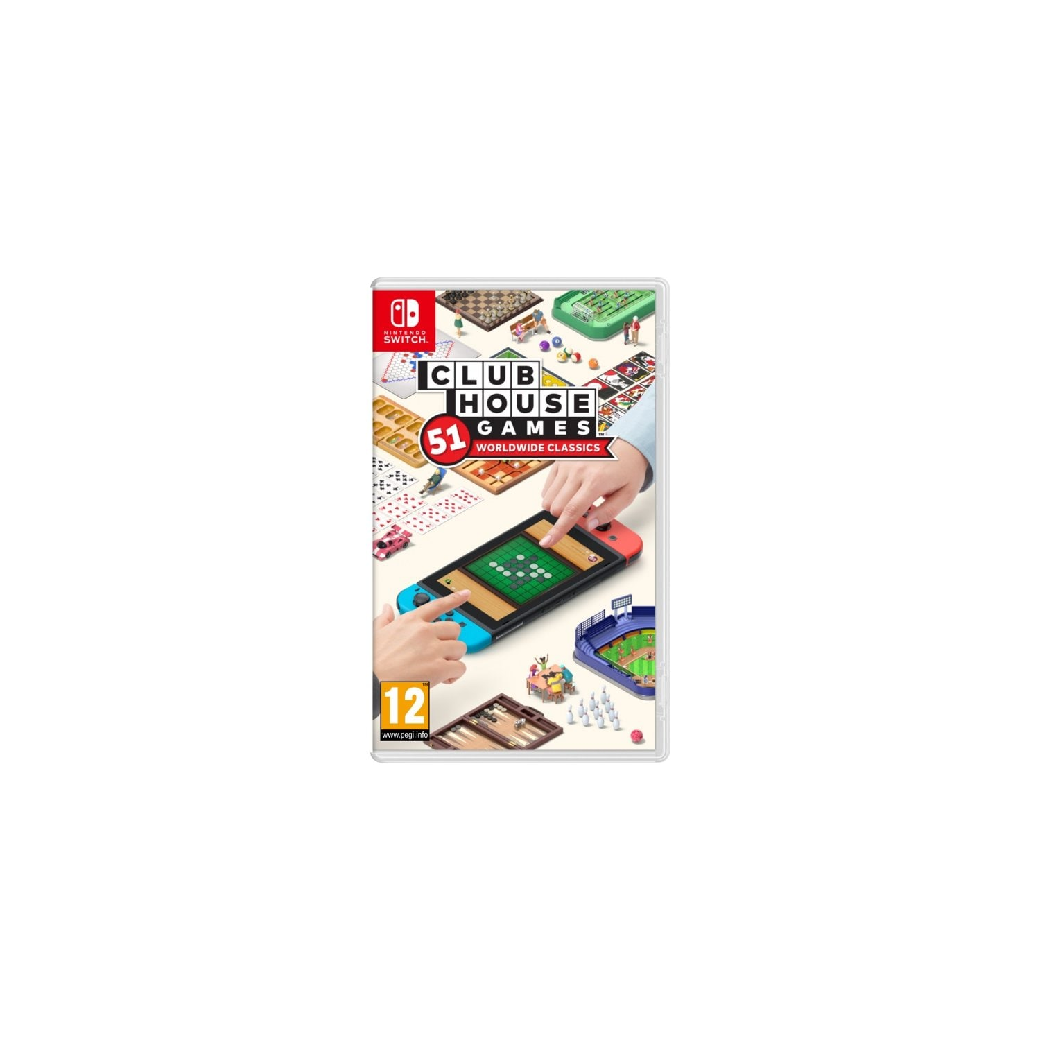 Gra Nintendo Switch Clubhouse Games: 51 Worldwide Classic