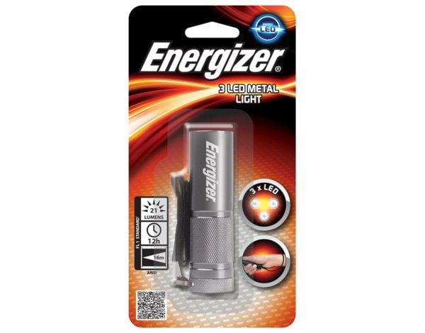 Latarka ENERGIZER 3 LED Metal Light