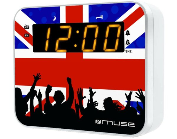 Radiobudzik MUSE M-165 UK