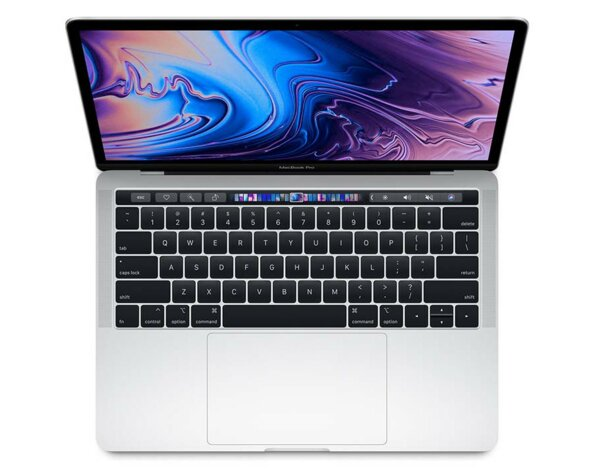 Laptop APPLE MacBook Pro 13.3 z Touch Bar i5 2.4GHz/8GB/512GB SSD/Iris Plus 655/macOS Srebrny MV9A2ZE/A