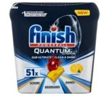 Tabletki do zmywarki FINISH Powerball Quantum Ultimate 51 cytrynowe