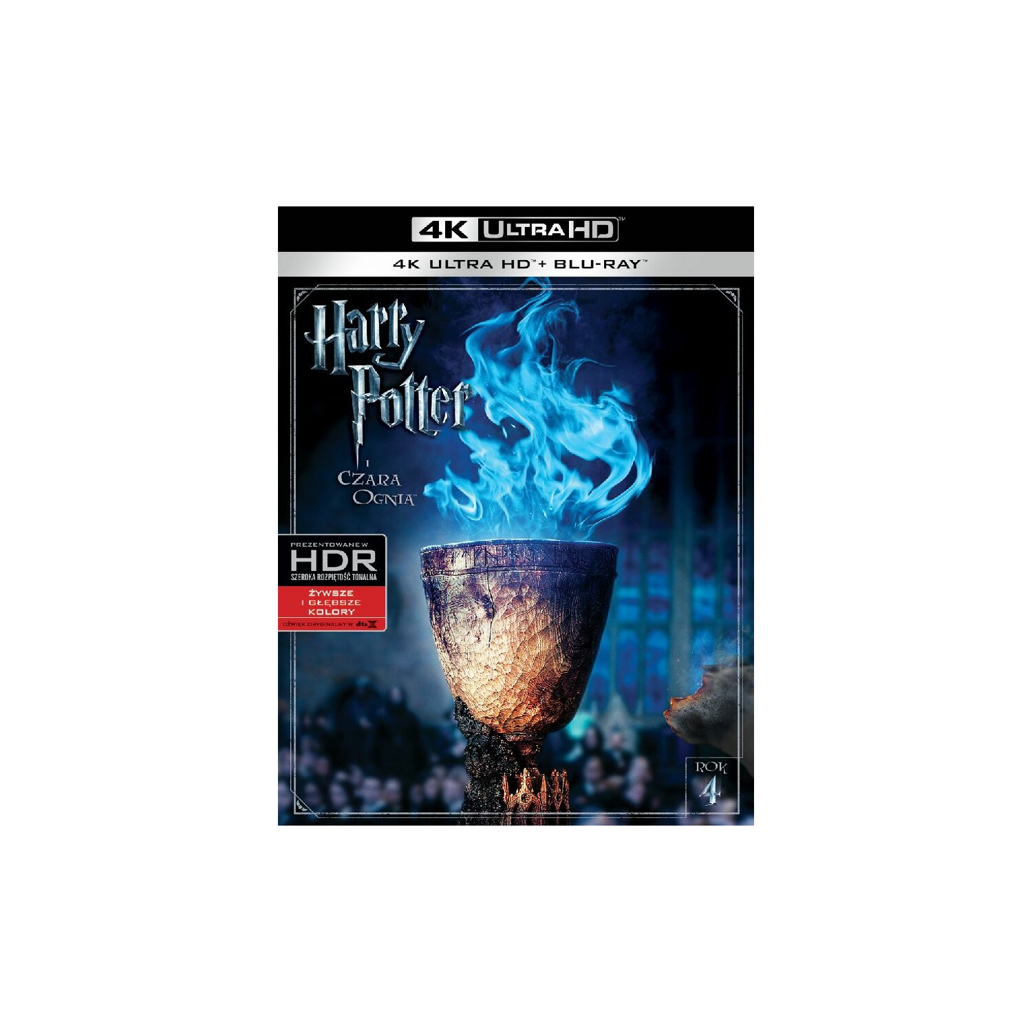 Harry Potter i Czara Ognia 4K (2BD)