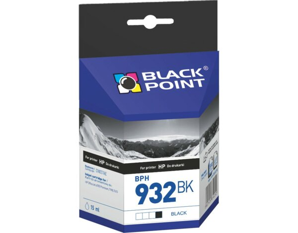 Tusz BLACK POINT BPH932BK Zamiennik HP CN057AE