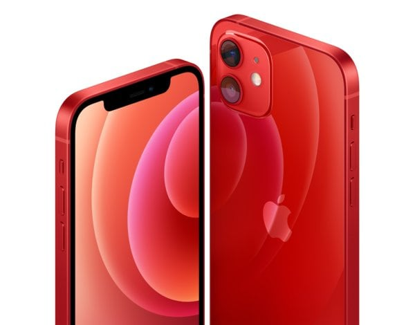 Smartfon APPLE iPhone 12 64GB (PRODUCT)RED MGJ73PM/A