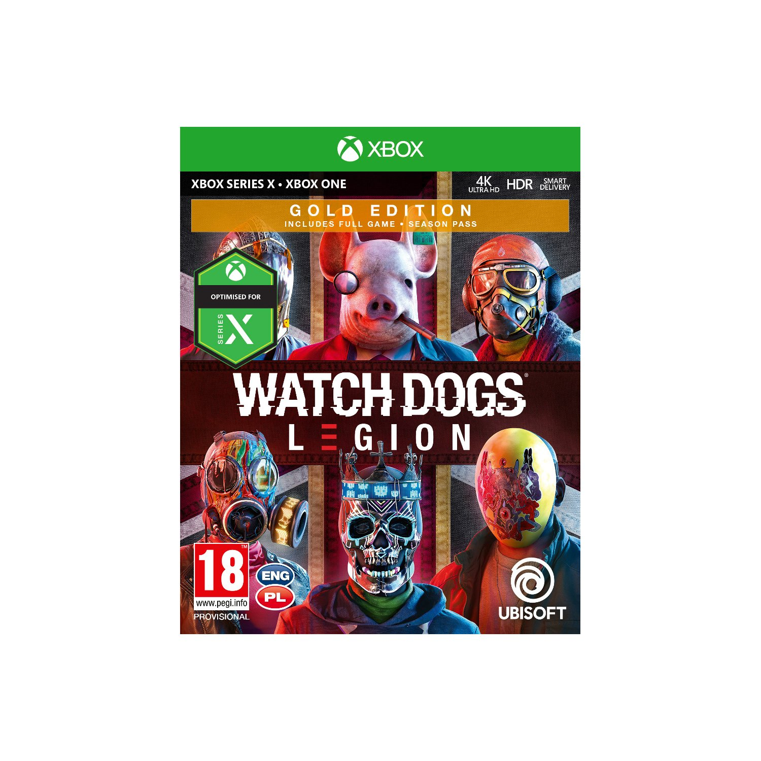 Gra Xbox One Watch Dogs Legion Gold Edition