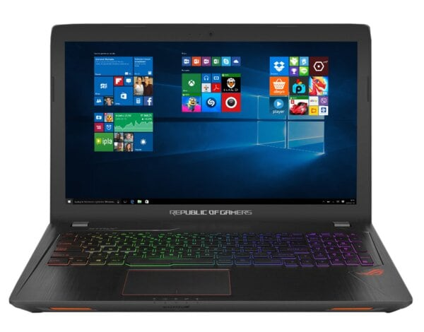 Laptop ASUS ROG GL553VD-FY033T i5-7300HQ/8GB/1TB/GTX1050/Win10