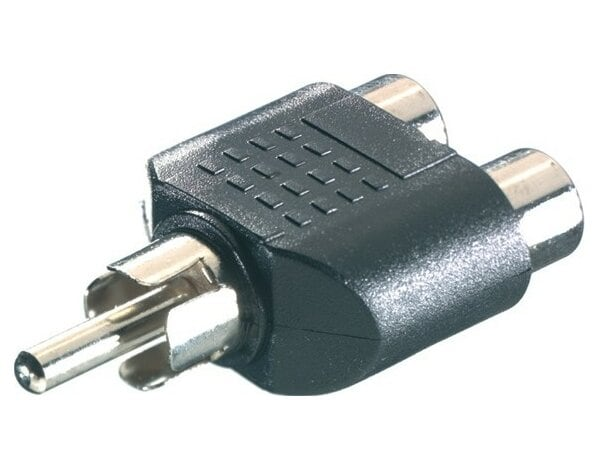 Adapter VIVANCO RCA - 2xRCA