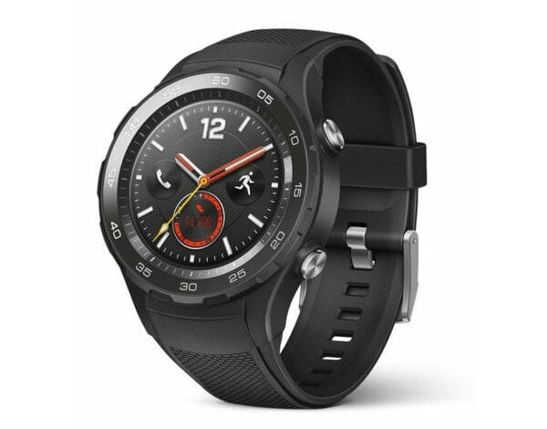SmartWatch HUAWEI Watch 2 Carbon Black Sport Strap Leo-L09S