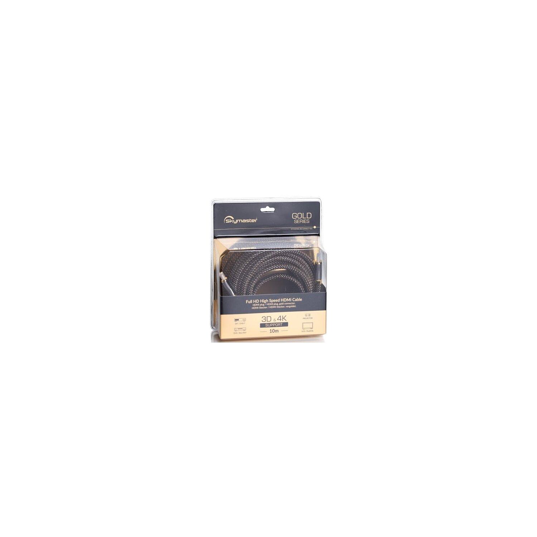 Kabel SKYMASTER HDMI - HDMI Gold 10m, Kable AV - opinie ...
