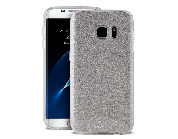 Etui PURO Glitter Shine Cover do Samsung Galaxy S8 Srebrny