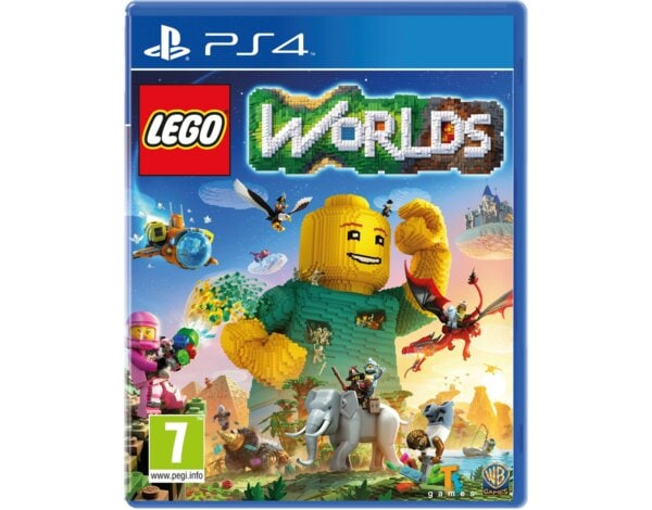 Gra PS4 LEGO Worlds