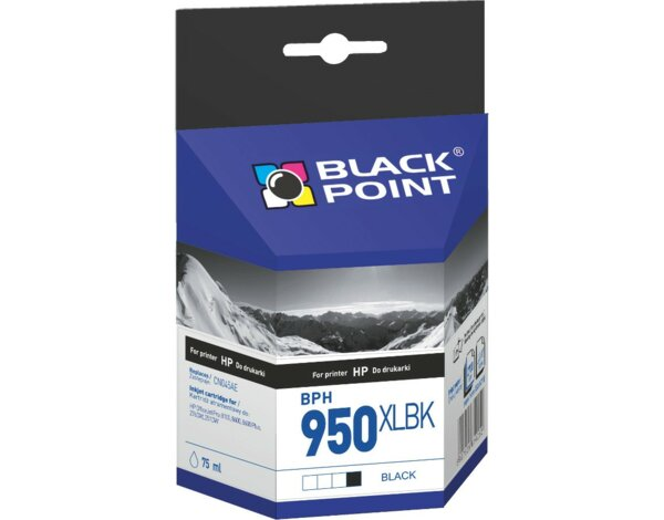 Tusz BLACK POINT BPH950XLBK Zamiennik HP CN045AE
