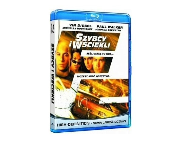 Film TIM FILM STUDIO Szybcy i wściekli The Fast and the Furious