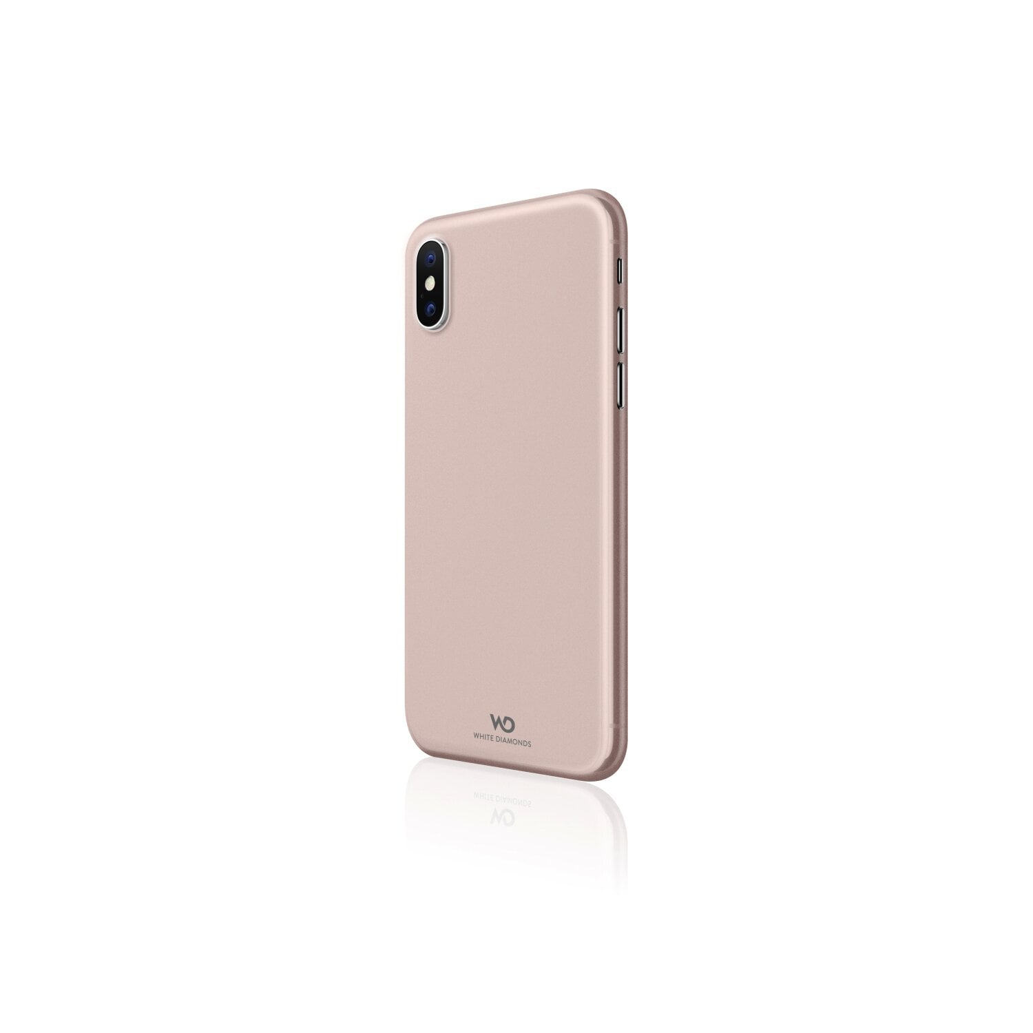 Etui HAMA Black Rock Ultra Thin Iced do Apple iPhone XS Max Różowo-Złoty