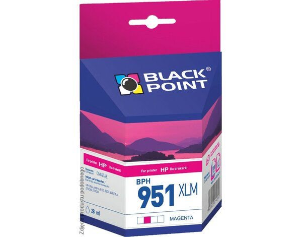 Tusz BLACK POINT BPH951XLM Zamiennik HP CN047AE