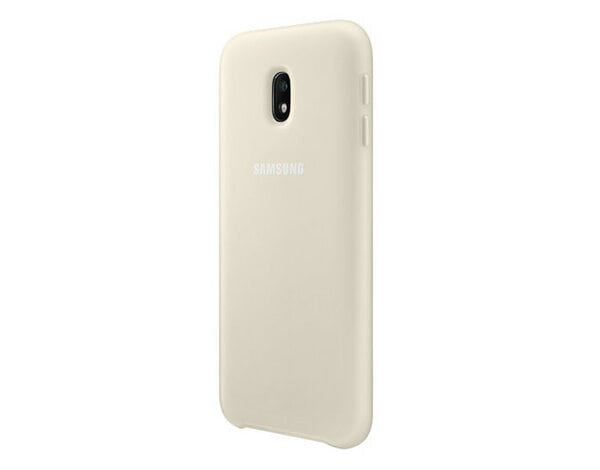 Etui SAMSUNG Dual Layer do Galaxy J3 (2017) Złoty EF-PJ330CFEGWW