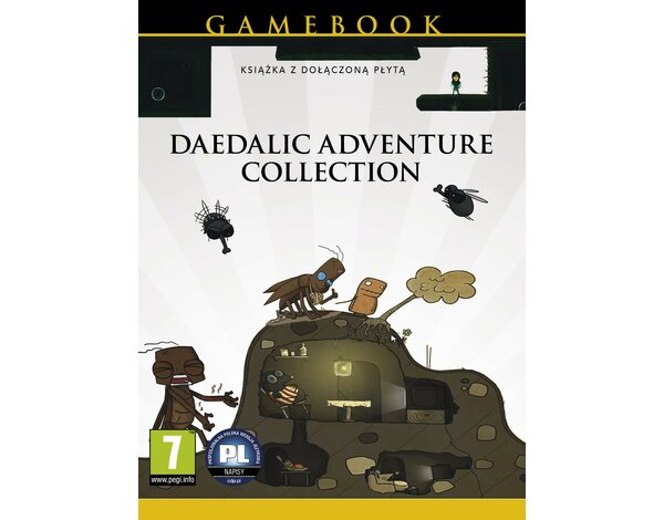 Gra PC Daedalic Advanture Collection (Gamebook)