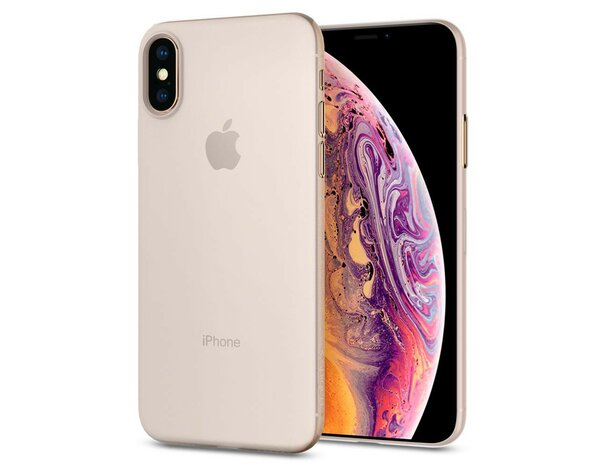 Etui na smartfon SPIGEN AirSkin do Apple iPhone XS Przezroczysty 063CS24909