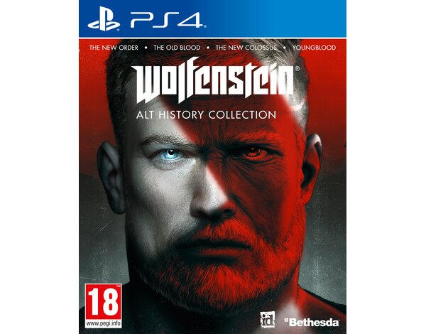 Gra PS4 Wolfenstein Alt History Collection