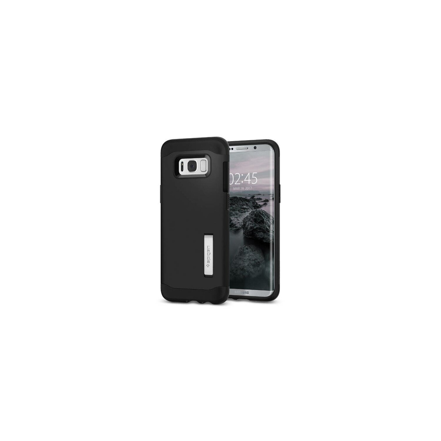Etui SPIGEN Slim Armor do Samsung Galaxy S8 Plus Czarny