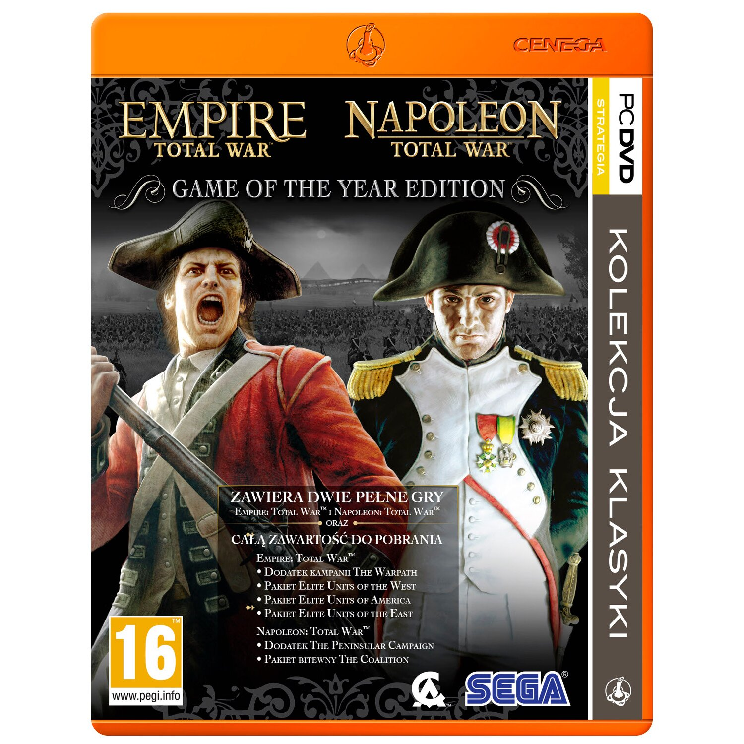 Gra PC PKK Empire: Total War + Napoleon: Total War (Game of The Year Edition)