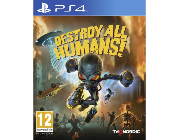 Gra PS4 Destroy All Humans! Crypto-137 Edition