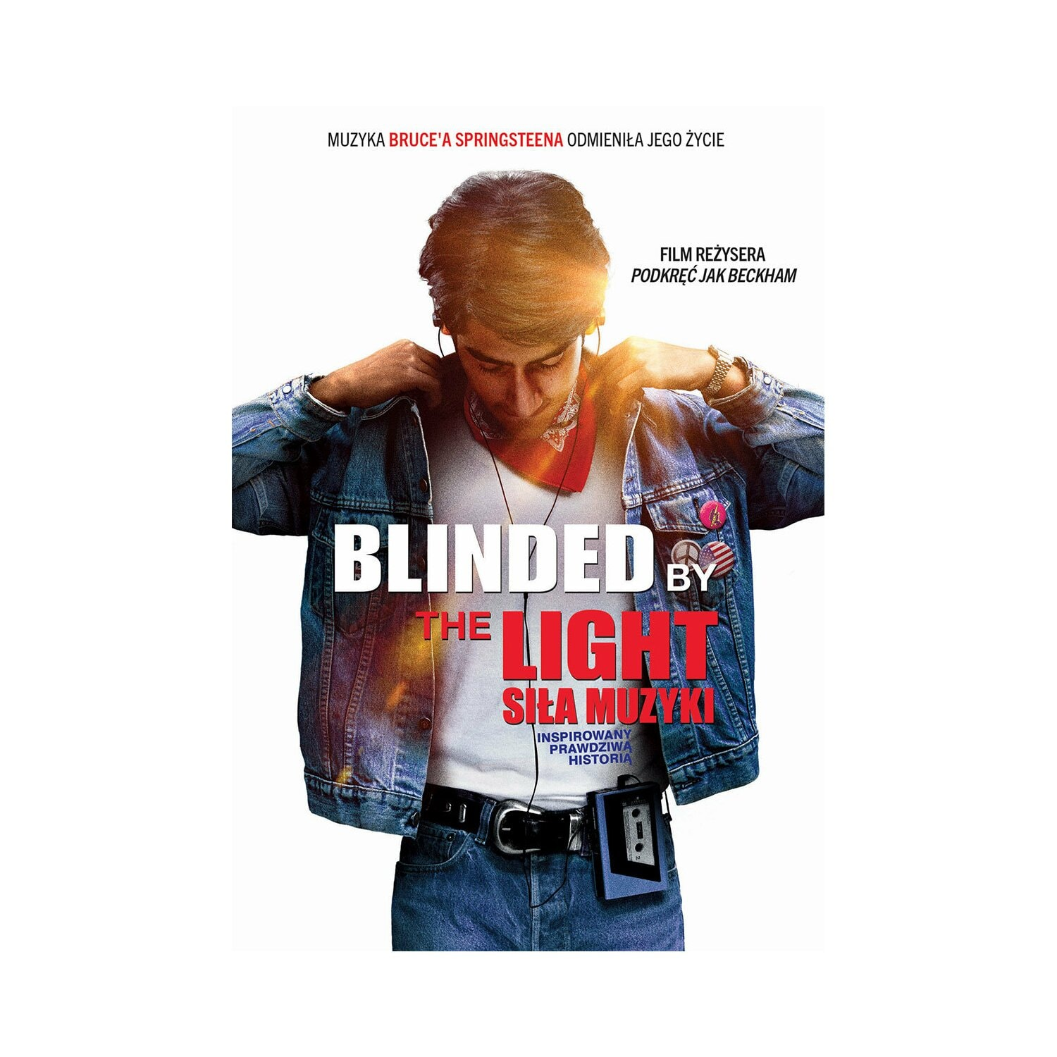 Blinded by the light. Siła muzyki (DVD)