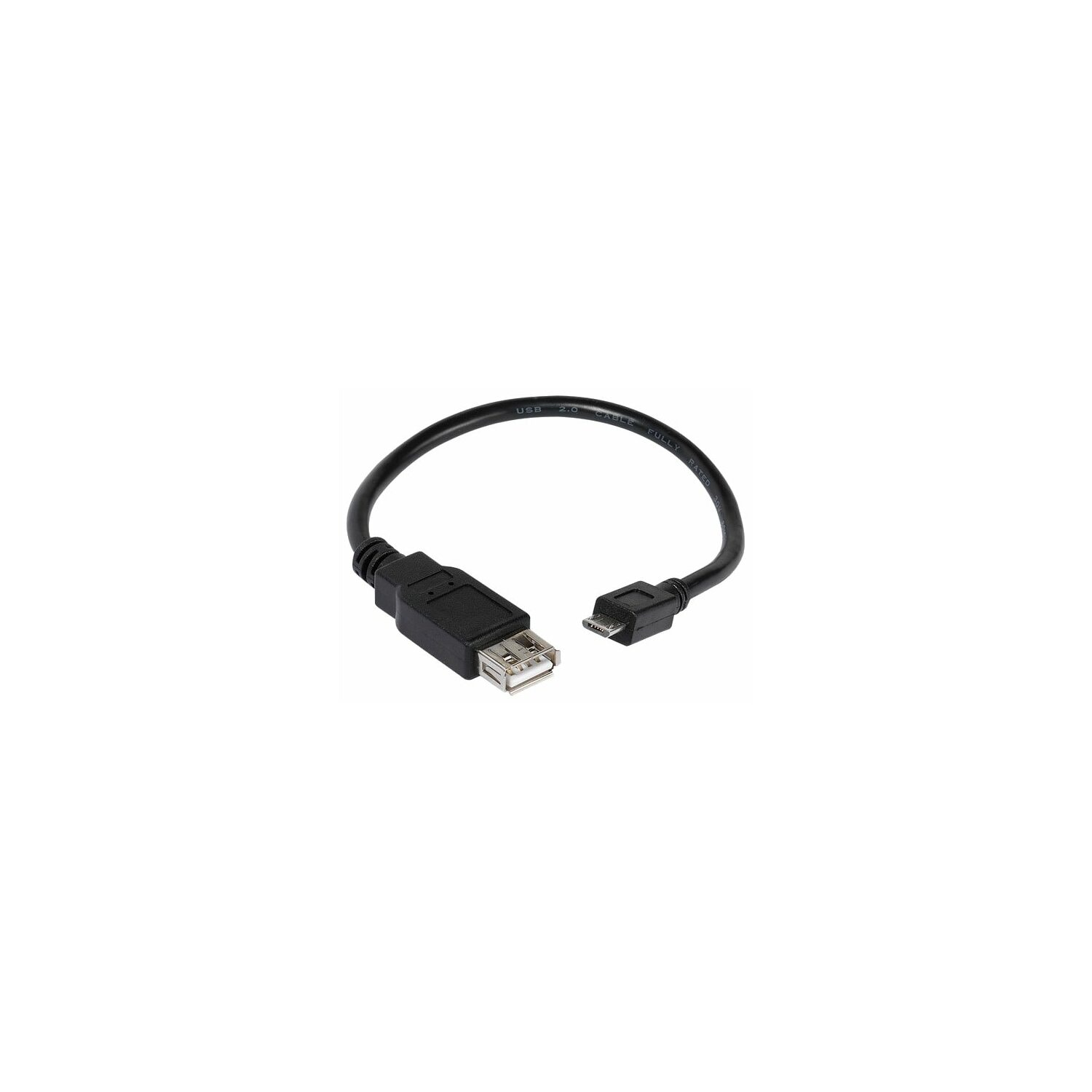 Adapter VIVANCO USB - microUSB