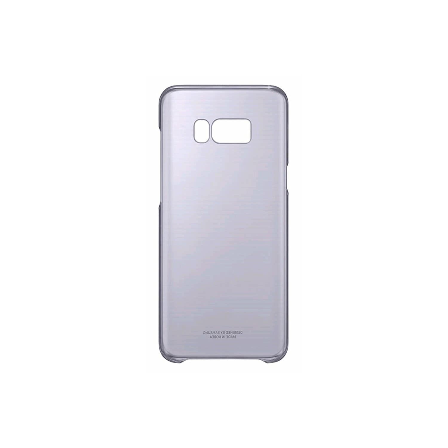 Etui SAMSUNG Clear Cover do Galaxy S8+ Fioletowy EF-QG955CVEGWW