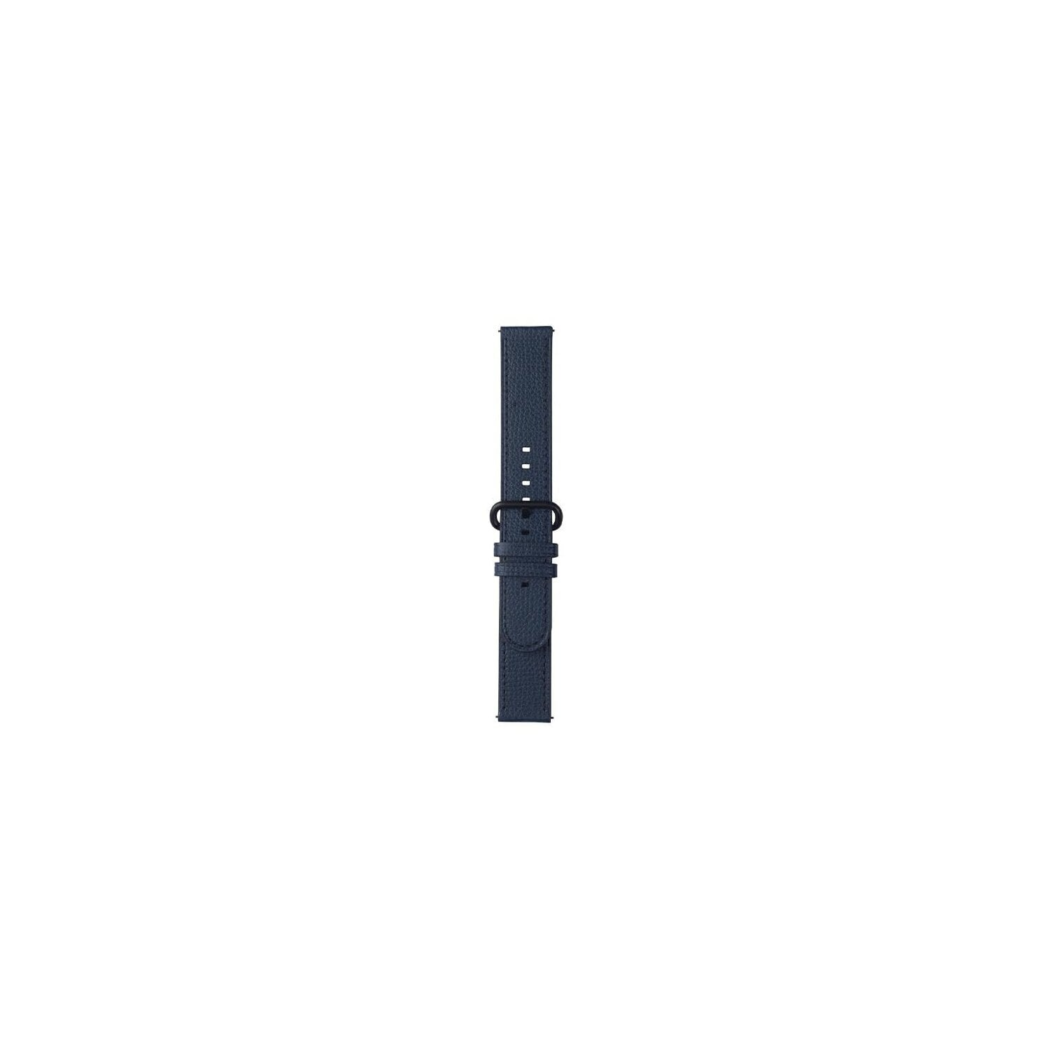 Pasek do smartwatcha SAMSUNG Essence dla Galaxy Watch Active/Active2 20mm Granatowy GP-TYR820BRBNW