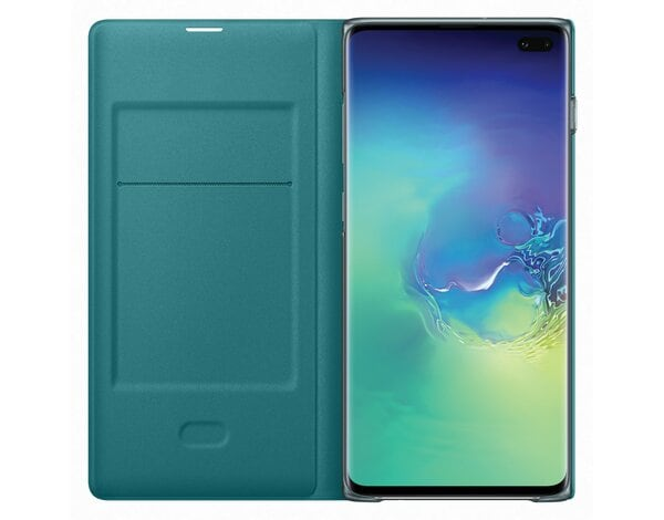 Etui SAMSUNG LED View Cover do Galaxy S10 Plus Zielony EF-NG975PGEGWW