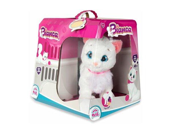 Zabawka Interaktywna Tm Toys Interaktywny Kotek Bianca Maskotki